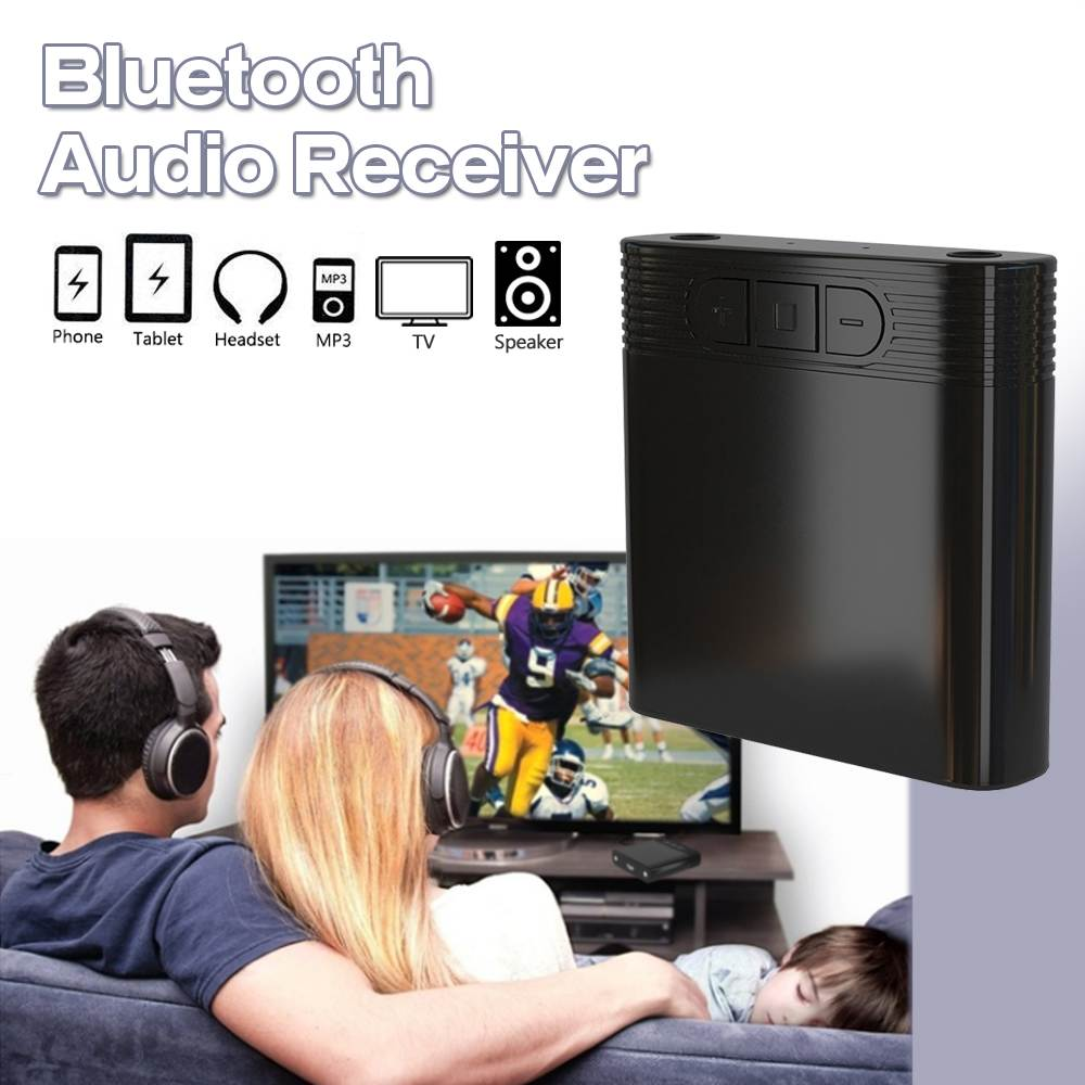 4.1 bluetooth Audio Receiver 3.5mm Aux Audio Receiver Wireless Adapter for Headphone TV MP3 Speaker PC Music  Adapter