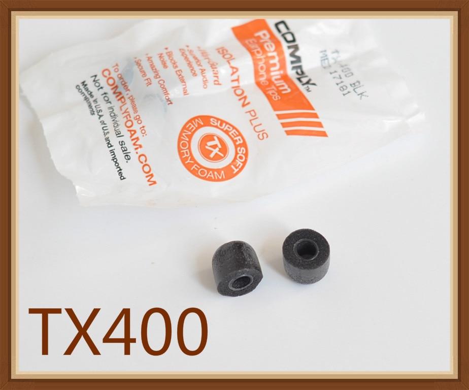 Almohadillas de espuma para las orejas TX400 S400 TS200, Original, suave, con aislamiento mejorado de ruido, esponja para graves, 2 uds.
