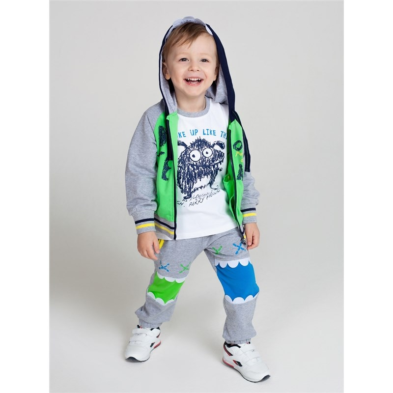 [Available with 10.11] Set jersey for boys: hoody, pants archos 70b
