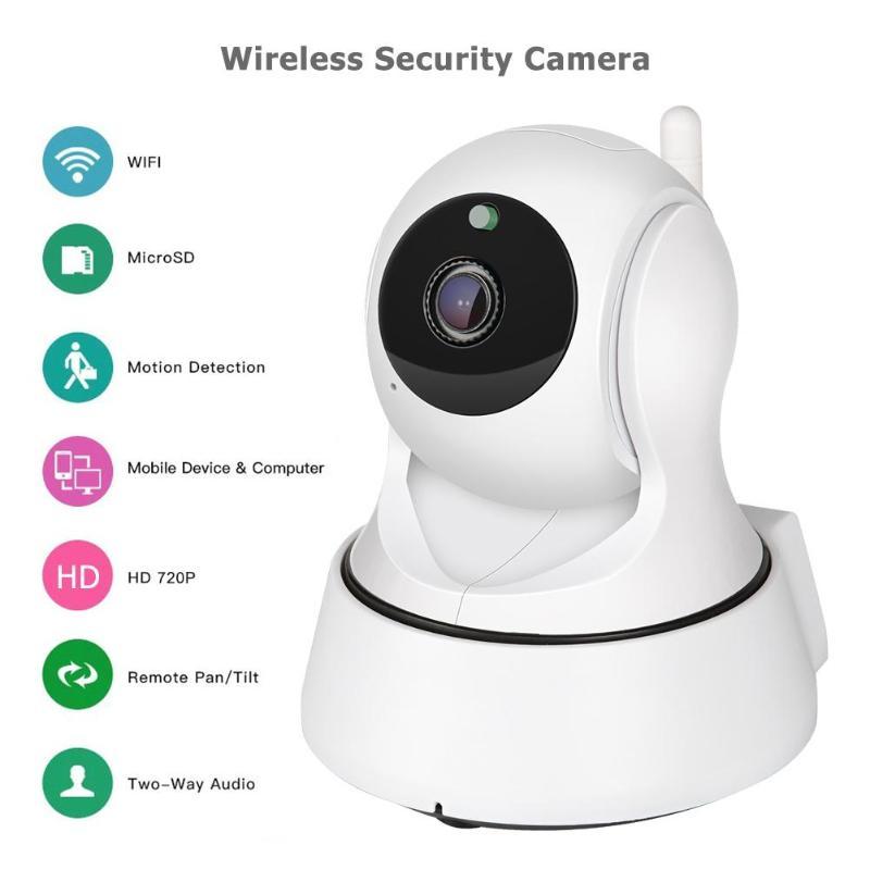 720P 3MP Wireless WiFi Webcams Home Security IP Web Camera IR Night Vision CCTV Surveillance Network Camera White EU Webcam
