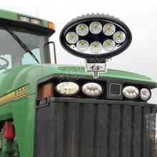 20 шт 24 Вт 8 Светодиодный светильник для работы трактор светодиодный