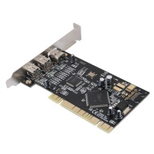 PCI 3-Port FireWire 800 1394 B/A (2B1A) video Capture Card 800 Mbps Controller Kartu Adaptor(China)