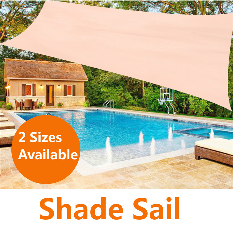 the best attitude e29b4 be2cf US $22.39 52% OFF 2 Size Outdoor Patio Awning Shelter Sun Shelter Sun Shade  Sail Garden Patio Sunscreen Awning Canopy Screen 90%UV Block Top Cover-in  ...