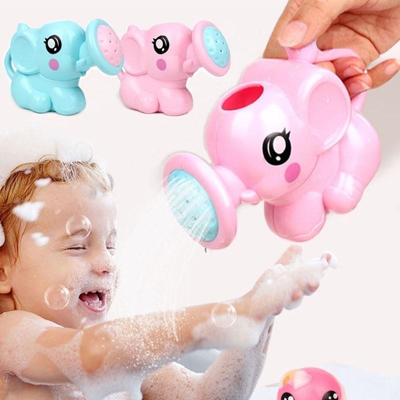 3D Baby Shower Elephant Bath Toys Parent