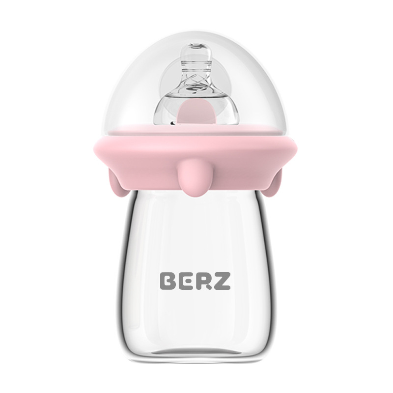 Baby Fedding Bottle Infant Newborn Cup Children Learn Feeding Drinking Bottle Kids Straw Juice Water Bottles 120ML
