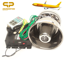 Loud Speaker 200W Wireless Warning Alarm Horn Police Siren Sound MIC Pa System Megaphone 12V for Car Train Ship Boat Truck VW