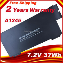 7.4V A1245 Laptop Battery For Apple MacBook Air 13 A1237 A1304 MB003 MC233LL/A MC234CH/A MC504J/A MC503J/A laptop batteries for apple a1245 macbook air 13 a1237 a1304 13 mc233 a 13 mc234 a air 13 mb003j a 7 2v 6 cell