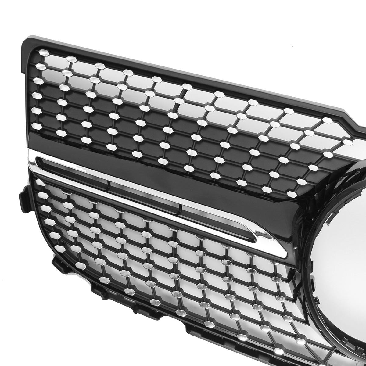HIgh Quality X204 Diamond Grille Car Front Bumper Grill Grille For Mercedes For Benz GLK X204 GLK250 GLK300 GLK350 2013-2015