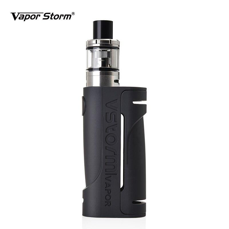 Vapor Storm ECO V Tank E Cigarette Kit Max 90W Colorful Vape Mod Without 18650 Battery 2ml 0.3ohm Atomizer Camo Gray Punk Color