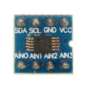 Image 2 - LEORY Mini ADS1115 Module 4 canaux 16 bits I2C ADC Pro amplificateur de Gain