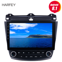 Harfey HD 1024*600 Touch Screen 10.1 inch Android 8.1 Car Radio For Honda Accord 7 2003 2007 GPS Navigation Bluetooth Head unit