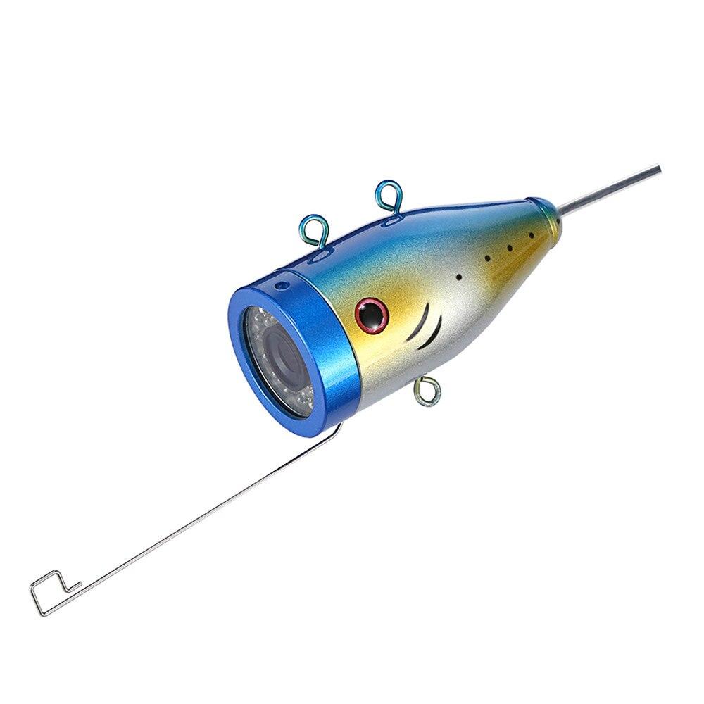 7.0 pouces HD 1000TVL sous-marin poisson trouveur caméra de pêche vidéo pêche vidéo caméra Kit 15 pièces blanc LEDs Fishfinder 15 m gamme - 5