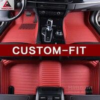 Индивидуальные автомобильные коврики для Hummer H3 H2 3D Тюнинг автомобилей все тяжелых погодных водонепроницаемые противоскользящие ковры вкл