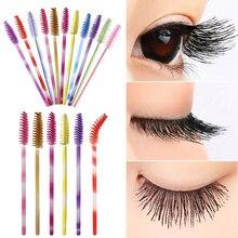 Fashion 50PCS/Lot Disposable Applicator Lash Makeup Eyelash Extension Brushes Mascara Wands