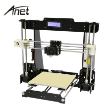 Large Printing Size Industrial Anet A8 3D Printer Large Format 3D Printer Machine Single Extruder Nozzle With Filament