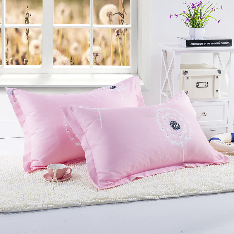 1pc Moon Stars Polyester Pillow Case Home Decorative Pillowcase 48cm*74cm Soft Home Bedroom Pillow Cover 50
