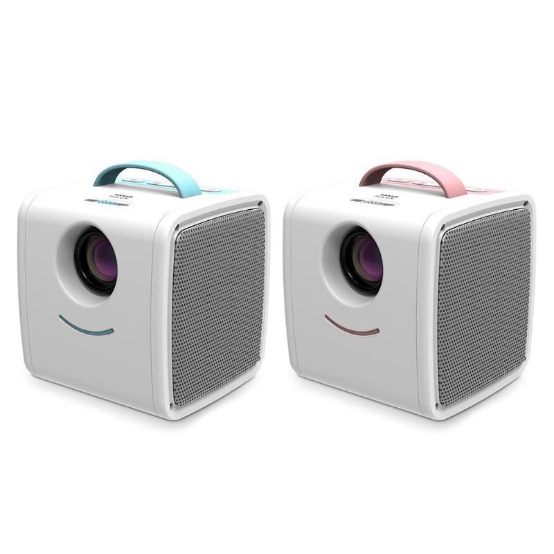 Здесь можно купить  Q2 Mini Projector 1080P Full HD Children Education Portable Projector Cartoon TV Home Theatre Beamer EU / US Plug  Бытовая электроника