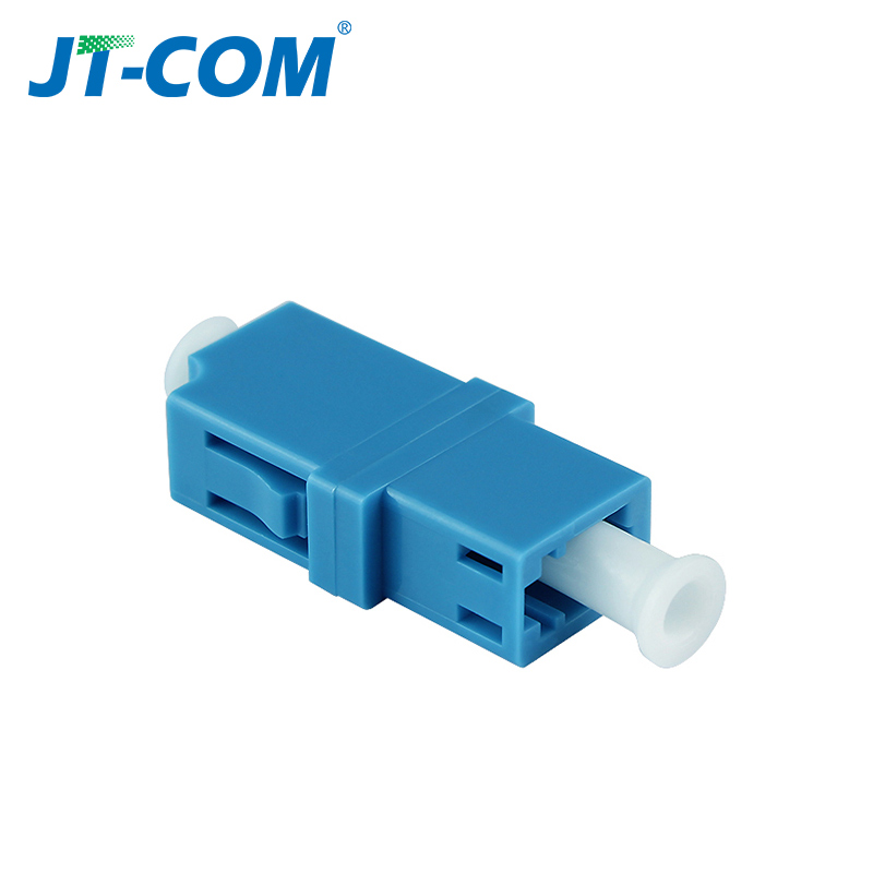 Image 2 - LC APC Simplex SingleMode FTTH fiber adapter  LC UPC SM optical fiber flange connector LC MM Multimode fibra optica coupler-in Fiber Optic Equipments from Cellphones & Telecommunications