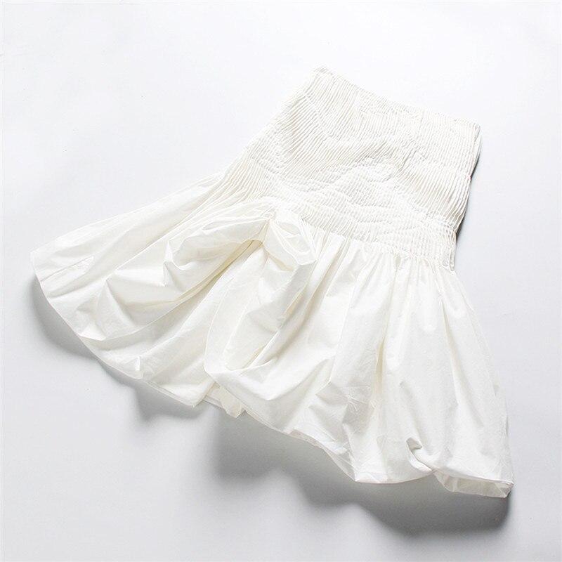 Noir Décontracté Piste Femmes Haute Vêtements Fête Jupes