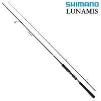 SHIMANO LUNAMIS углерода Приманка Удочка M мл MH Мощность 2,29 м 2,59 м 2,74 м 2,9 м 3,05 м 2 сегмент литье спиннинговая удочка для океанской рыбалки