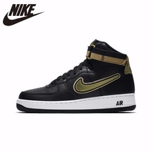 NIKE AIR FORCE 1 HIGH '07 AF1 Original Arrival Men Motion Skateboarding Shoes Breathable Sneakers #AV3938 цена