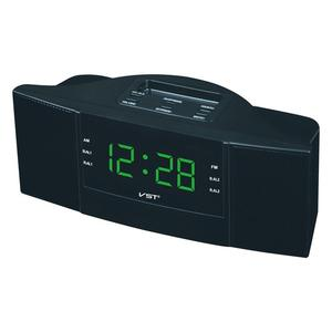 Image 2 - Portable Speaker Multi function LED Clock AM/FM Digital Radio Stereo Sounds Music Program Devices Dual Band Channel For Gifts
