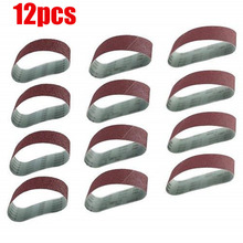 Tools Useful Sandpaper Sanding Belt Abrasive Band Sander Durable Aluminum Oxide 40-120 Grit~# In Many Styles