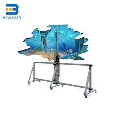 Цифровой настенный установка для печати наклеек фрески печатное оборудование