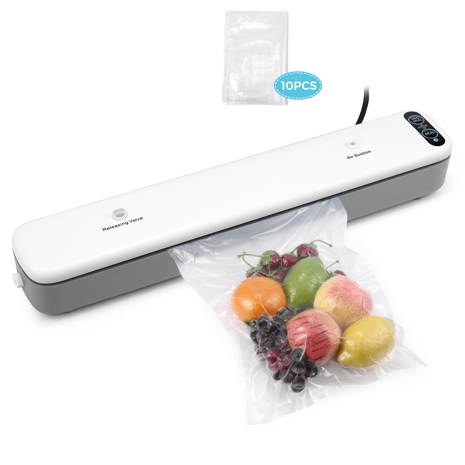 Automatic Electric Vacuum Food Sealers Sealing Machine Vacuum Package Domestic Kitchen Tool Kitchen Appliances
