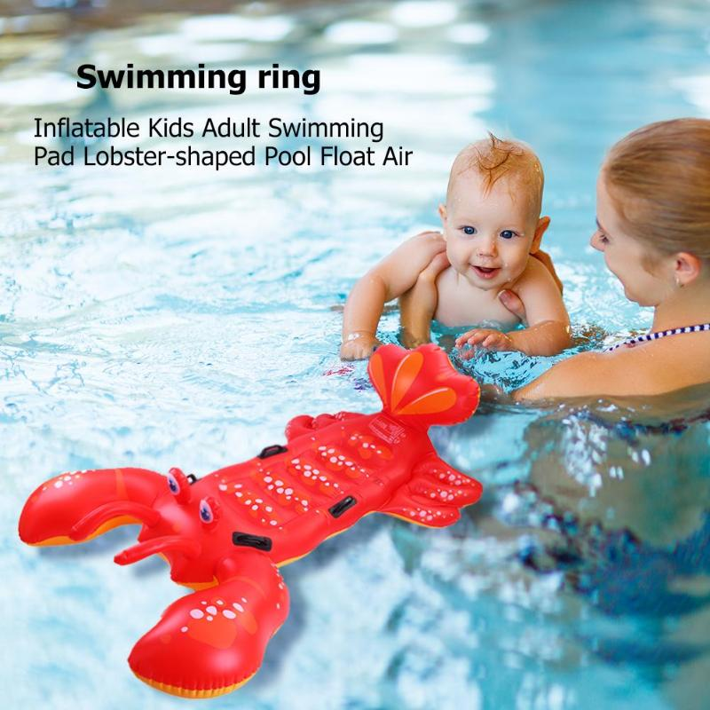 Funny Swimming Toys Inflatable Kids Adult Swimming Pad Lobster-shaped Pool Float Air Mattresses Kids Outdoor Water Fun Play ToysFunny Swimming Toys Inflatable Kids Adult Swimming Pad Lobster-shaped Pool Float Air Mattresses Kids Outdoor Water Fun Play Toys