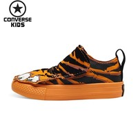 CONVERSE Children's Shoes Cartoon Low Help Magic Subsidies Non slip Canvas Shoes For Men And Women Baby #759950C S