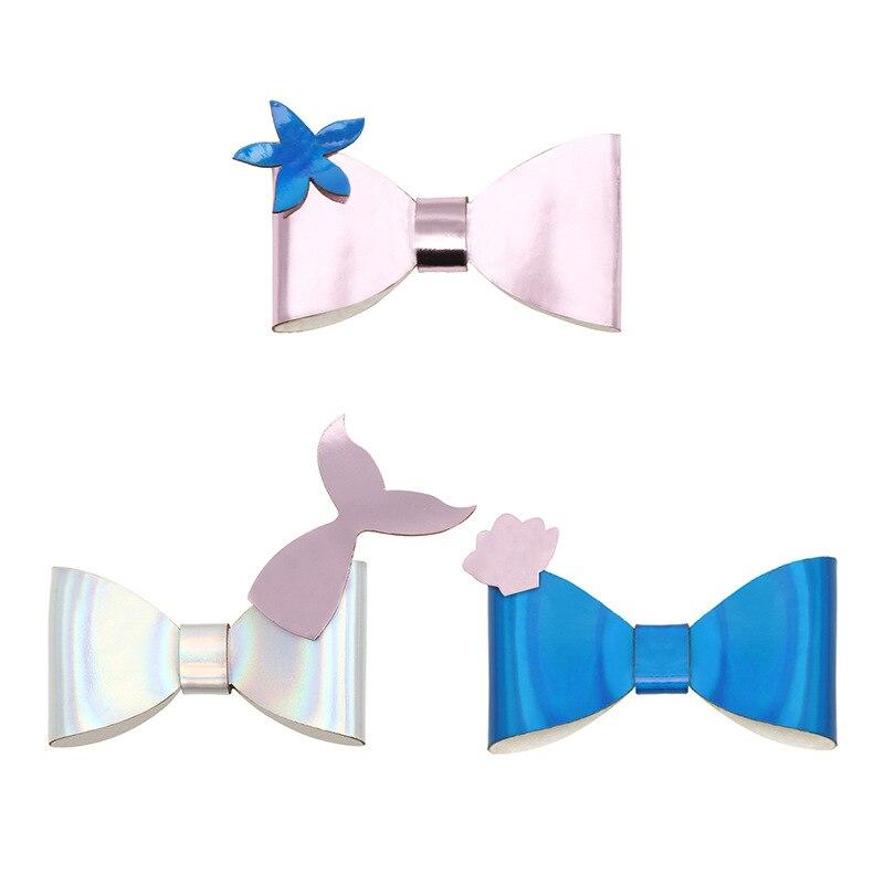 Mermaid Cheer Bow Girls large hair bow cute bow sea