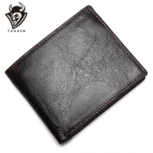100% Genuine Leather Mens Wallet Premium Product Real Cowhide Wallets For Man Short Black Walet Portefeuille Homme цена 2017