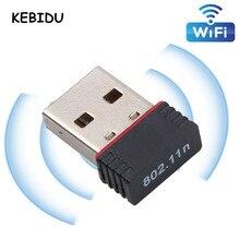 휴대용 미니 네트워크 카드 usb 2.0 wifi 무선 어댑터 네트워크 lan 카드 150 mbps 802.11 ngb rtl8188eu 어댑터 pc 데스크탑
