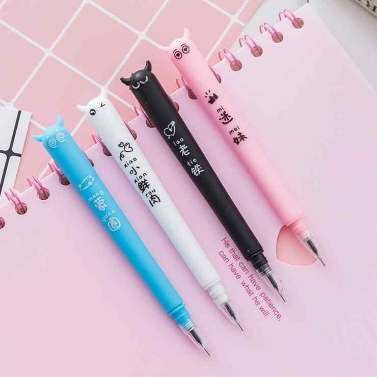 إلين بروك 1 قطعة الكورية لطيف Kawaii الشيطان الحلوى لون القلم الإعلان الإبداعية المدرسة اللوازم المكتبية القرطاسية جل أقلام