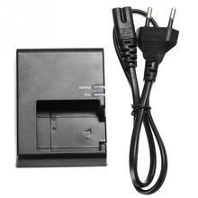 Portable LC E10C Camera Battery Charger for Canon LP E10  1100D 1200D Kiss X50 Rebel  EU Plug Charge Indicator Recharger