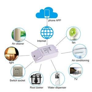 Image 2 - Sonoff כפולה R2 2CH Wifi חכם מתג בית שלט רחוק אלחוטי מתג אוניברסלי מודול טיימר מתג בית חכם בקר