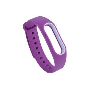 Image 4 - 21 kolory moda bransoletki dla Xiaomi Mi Band 2 Sport pasek zegarka silikonowy pasek na rękę dla Xiaomi MiBand2 bransoletka pasek na rękę