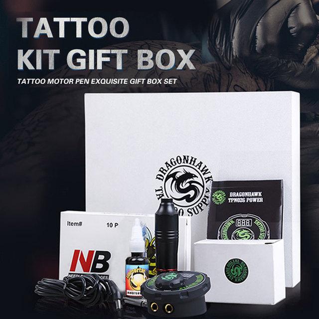 Tattoo Kit Professional Tattoo Machine Set Tattoo Guns Rotary Kit Pen Machine Tattoo & Body Art