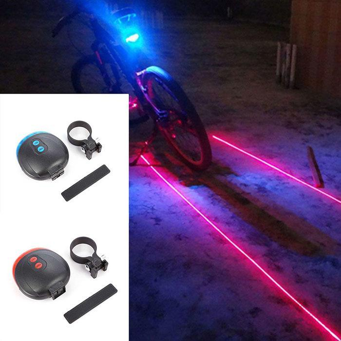 to Light Mountain easy lightweight Warning Casual LEDs and Safety 5 LED LED Tail Tail Rear 260 Lamp Bicycle Bike use