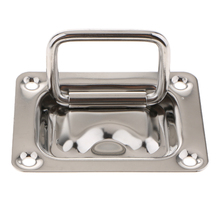 Durable 304 Stainless Steel Boat Yacht Deck Hatch Flush Pull Lift Locker Pull Handle Ring Door Knobs Accessory