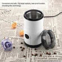 Elektrikli Kahve Değirmeni Paslanmaz çelik bıçaklar Baharat Fasulye Fındık Mutfak Taşlama Aracı 220-240 V AB Tak