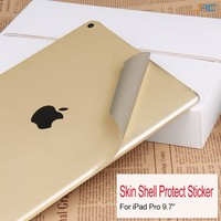 Skin Shell Protect Sticker film cover For iPad 9.7 WiFi A1823 Back Shell Protector 9.7 4G A1822 Shell Anti scratch membrane.