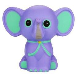 Медленно растущие игрушки, мягкие игрушки для снятия стресса милый слон для детей и взрослых Супер забавный подарок
