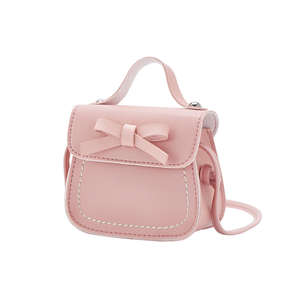 Toddler Baby Girl Messenger Bags Princess Bow Children Kids Girls Princess Shoulder Bag Handbag  Crossbody Bags