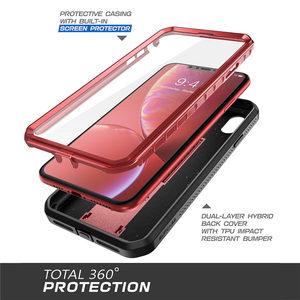 "Image 4 - קייס צבעוני עבור iPhone XR 6.1 ""מקרה SUPCASE UB פרו מלא גוף מוקשח נרתיק כיסוי עם מסך מובנה מגן & Kickstand"