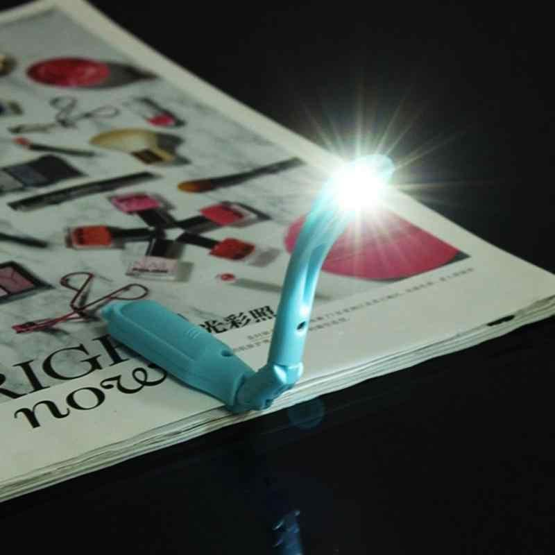 Новый светодиодный мини-светильник на клипсе, гибкий яркий светодиодный светильник, лампа для чтения книг, лампа для путешествий, спальни, прикроватная книга, подарки