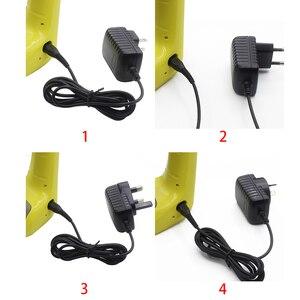 Image 5 - Fiş kurşun pil şarj cihazı aşırı şarj koruması adaptör güç kaynağı uygun siyah WV elektrikli süpürgeler