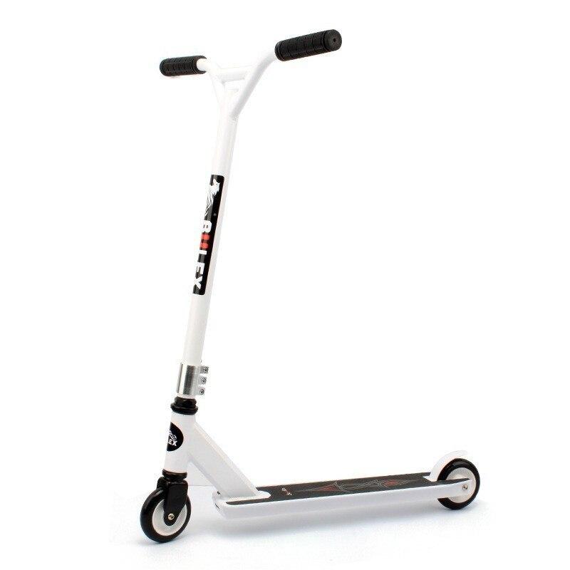 Kick Stunt Scooter Lwx-906 urbain Street roue en polyuréthane planche à roulettes Sports extrêmes léger pour les Adolescents adultes 2 roues