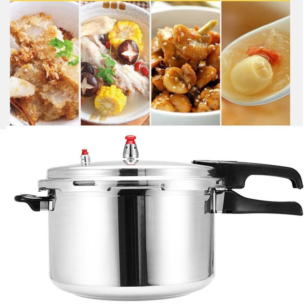 3L Household Kitchen Aluminum Alloy Pressure Cooker 18cm / 7inch Silver Cooking Utensils 13cm / 5.1inch3L Household Kitchen Aluminum Alloy Pressure Cooker 18cm / 7inch Silver Cooking Utensils 13cm / 5.1inch
